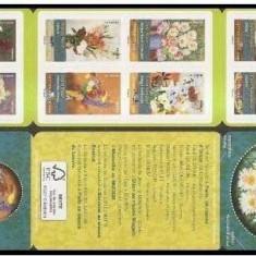 Franta 2015 - Buchete de flori, carnet filatelic neuzat