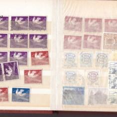 Clasor de buzunar cu timbre stampilate Estonia