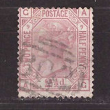 Marea Britanie 1876 - Mi47, stampilat