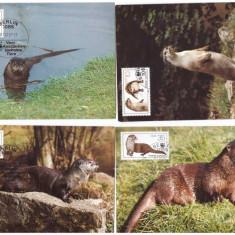 DDR 1985 - Fauna WWF, serie maxima