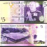 Tonga 2009 - 5 paanga UNC