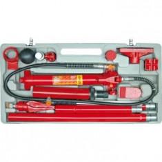 Pompa hidraulica pentru indreptat caroserie 10T cu accesorii Vorel 80412
