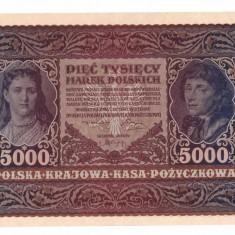 Polonia 1920 - 5000 marek aUNC