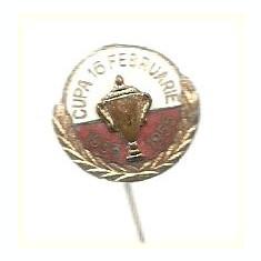 Insigna Cupa 16 februarie 1955
