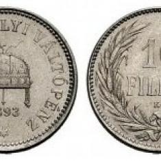 Ungaria - 10 filler 1893 aUNC