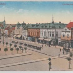 Targu Mures 1918 - piata Szechenyi