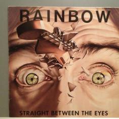 RAINBOW - STRAIGHT BETWEEN THE EYES (1982/POLYDOR/RFG) - Vinil/Impecabil (NM) - Muzica Rock universal records