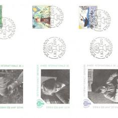 Insulele Feroe 1979 - UNICEF, serie FDC