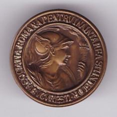 Insigna Asoc. Romana pt. Inaintarea Stiintelor Bucuresti