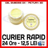 Cumpara ieftin GEL EMBOSS GD COCO 04 - PICTURA 3D PT LAMPA UV, MANICHIURA GEL, GELURI COLOR, Gel colorat