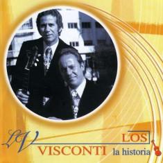 Los Visconti - Serie La Historia ( 1 CD ) - Muzica Latino