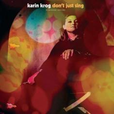 Karin Krog - Don'T Just Sing ( 1 CD ) - Muzica Jazz