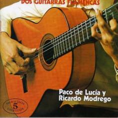 Paco De/Montenegro Lucia - Dos Guitarras Flamencas ( 1 CD ) - Muzica Latino