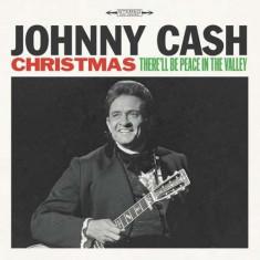 Johnny Cash - Christmas: There'll be Peace in the Valley ( 1 VINYL ) - Muzica Sarbatori