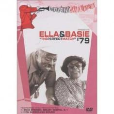 Ella Fitzgerald & Count Basie - Norman Granz Jazz in Montreux 1979 ( 1 DVD ) - Muzica Rock & Roll