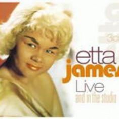 Etta James - Live and In the Studio ( 3 CD ) - Muzica Corala