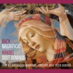 Bach/Handel - Dixit Dominus/Magnificat ( 1 CD ) - Muzica Clasica