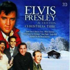 Elvis & Friends Presley - Christmas Time ( 2 CD ) - Muzica Sarbatori
