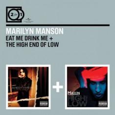 Marilyn Manson - Eat Me Drink Me /High End of Low ( 2 CD ) - Muzica Pop