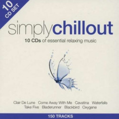 V/A - Simply Chillout -10Cd- ( 10 CD ) - Muzica Chillout