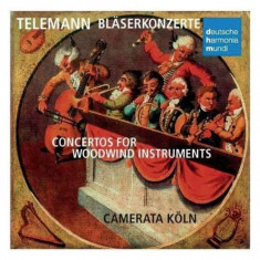 Camerata Koln - Telemann: Concertos for Woodwind Instrum ( 1 CD ) - Muzica Clasica