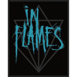Patch In Flames - Scratched Logo