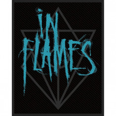 Patch In Flames - Scratched Logo - Patch Panel