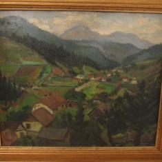 PAUL CONSTANTINESCU-PEISAJ LANGA CALIMANESTI - Pictor roman, Peisaje, Ulei, Altul