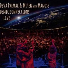 Deva & Miten Premal - Cosmic Connections Live ( 1 CD )