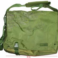 Geanta laptop Dicota, CA NOUA!, Geanta de umar, Poliester, Verde