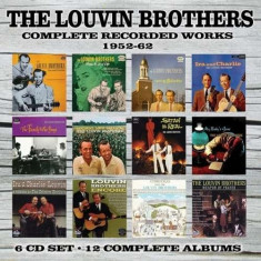 Louvin Brothers - Complete Recorded.. ( 6 CD ) - Muzica Country