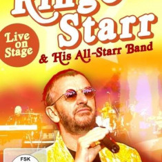 Ringo & His All-St Starr - Live On Stage ( 1 DVD ) - Muzica Rock & Roll