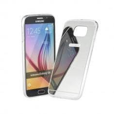 Husa FORCELL Mirror pentru Samsung GALAXY A7 Argintiu - Sticker Telefon