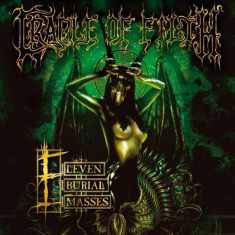 Cradle of Filth - Eleven Burial Masses -Hq- ( 2 VINYL ) - Muzica Rock