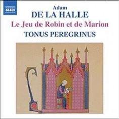 A. De La Halle - Le Jeu De Robin & Marion ( 1 CD )