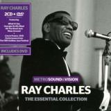 Ray Charles - Essential.. ( 2 CD + 1 DVD ) - Muzica Blues