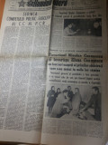 Ziarul romania libera 12 martie 1977-foto si art. despre cutremurul din 4 martie