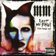 Marilyn Manson - Lest We Forget: The Best Of ( 1 CD ) - Muzica Rock