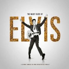Elvis.=V/A= Presley - Many Faces of Elvis ( 3 CD ) - Muzica Rock & Roll