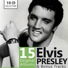 Elvis Presley - 15 Original Albums ( 10 CD ) - Muzica Rock & Roll
