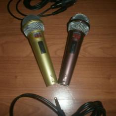Microfoane dinamice set doua bucati pentru karaole - Microfon Altele