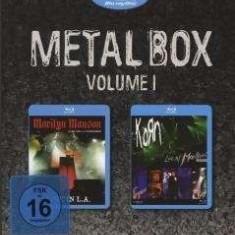 Marilyn/Korn Manson - Boxset Metal 1 ( 1 BLU-RAY ) - Muzica Rock