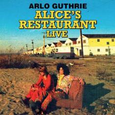 Arlo Guthrie - Alice's Restaurant Live ( 1 CD ) - Muzica Folk