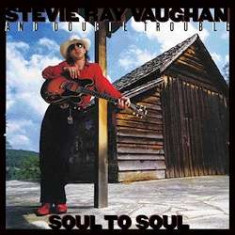 Stevie Ray Vaughan - Soul To Soul =45rpm= ( 2 VINYL )