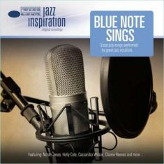 Various Artists - Jazz Inspiration: Blue Note Sings Great Pop Songs ( 1 CD ) - Muzica Jazz