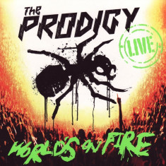Prodigy - Live Worlds on Fire ( 2 CD ) - Muzica Drum and Bass