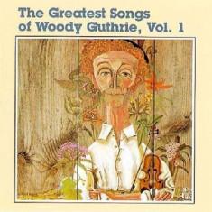 Woody Guthrie - Greatest Songs of..1 ( 1 CD ) - Muzica Blues