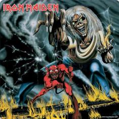 Suport Pahar Iron Maiden - Number of The Beast - Cartonas de colectie