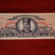 Romania - 1000 lei 1948 UNC - Bancnota romaneasca