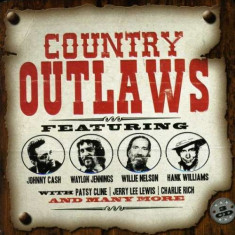 Artisti Diversi - Country Outlaws ( 3 CD ) - Muzica Country